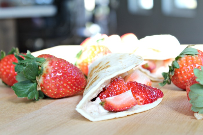 Fresh Strawberry Wraps