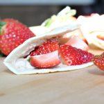 Strawberry Breakfast Tacos