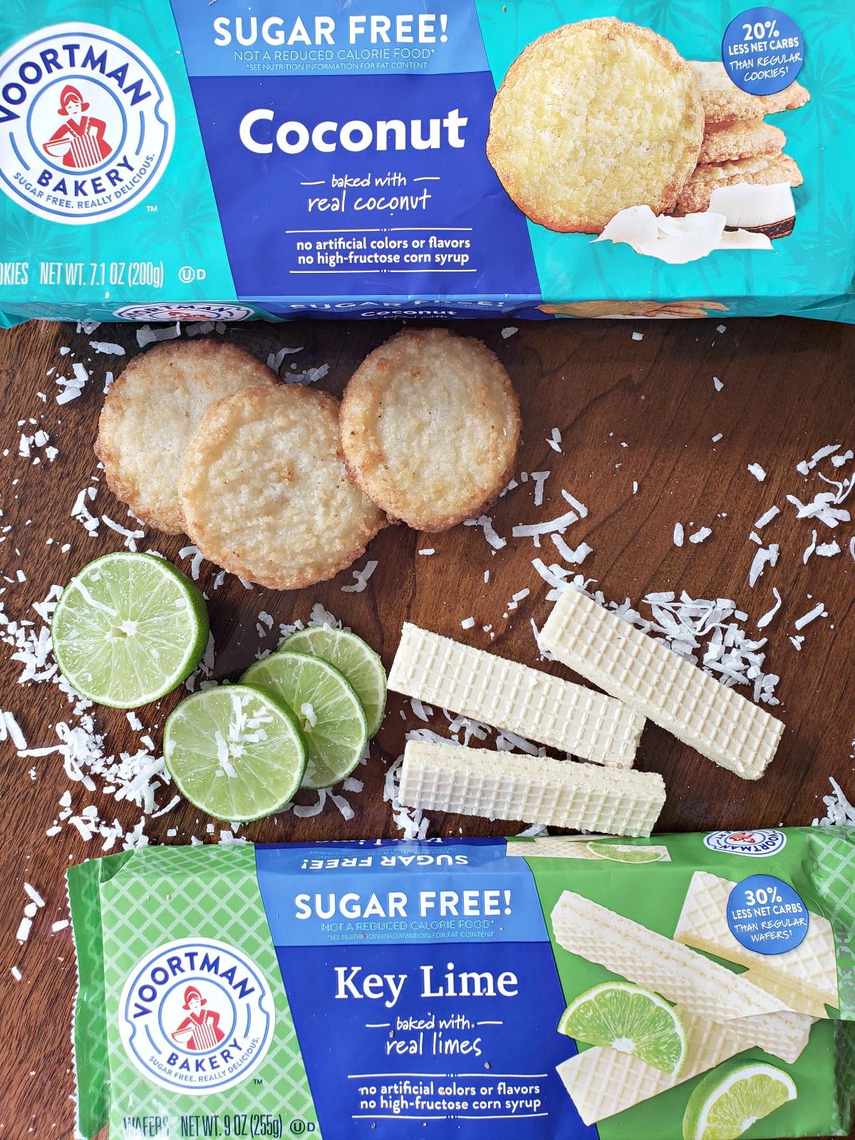 Voortman Sugar Free Wafers and Cookies