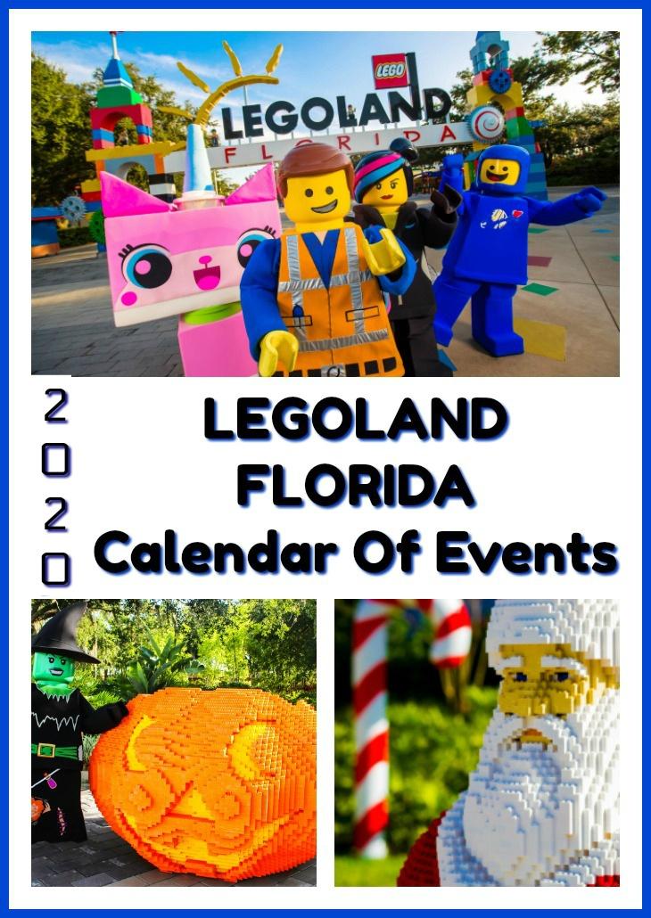 LEGOLAND Florida Calendar of Events