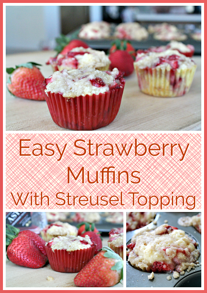 Delicious Strawberry Muffins