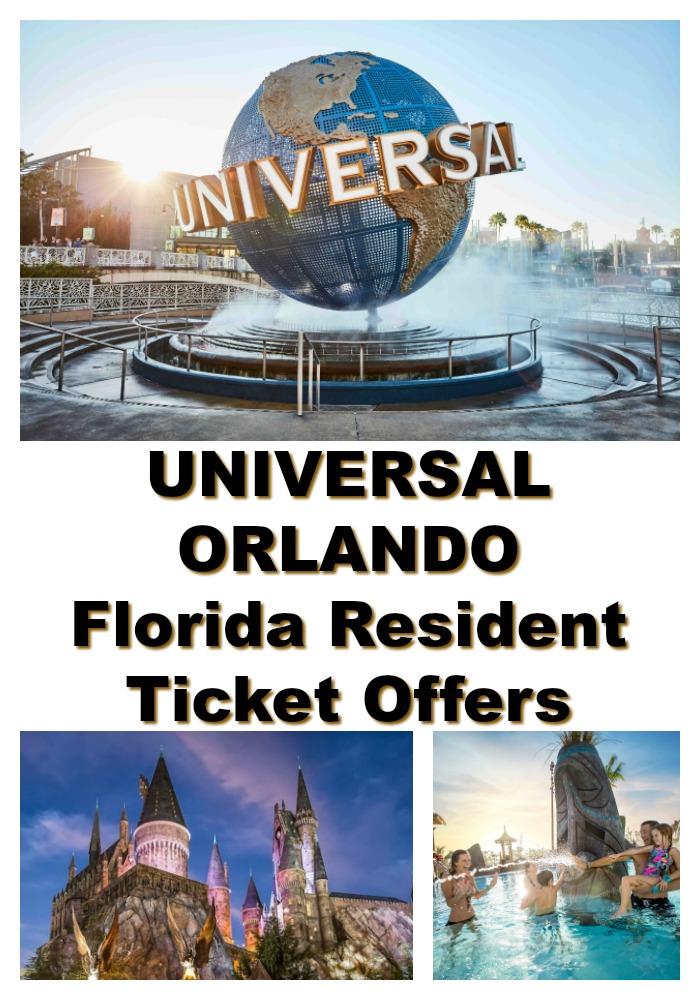 Florida Resident Universal Orlando Ticket Offers
