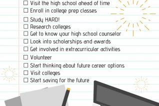 High School Student's College Prep Checklist