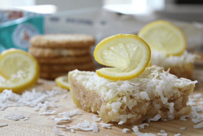 Best Lemon Coconut Bars