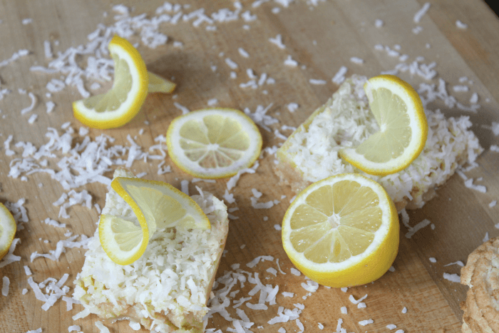 How to make Coconut Lemon Bars
