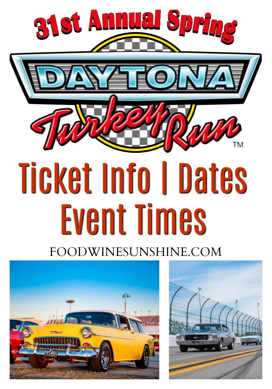 Daytona Turkey Run Event Information