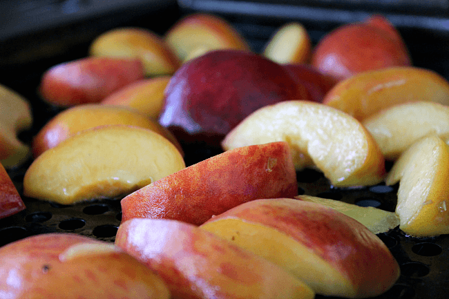 Why Grill Peaches