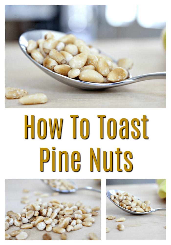 Easiest Way to toast pine nuts
