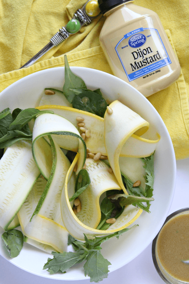 Healthy Zucchini and Squash Salad