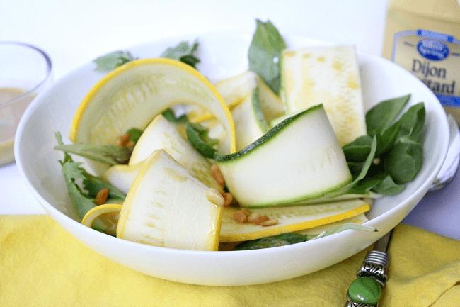 Zucchini and Squash Salad
