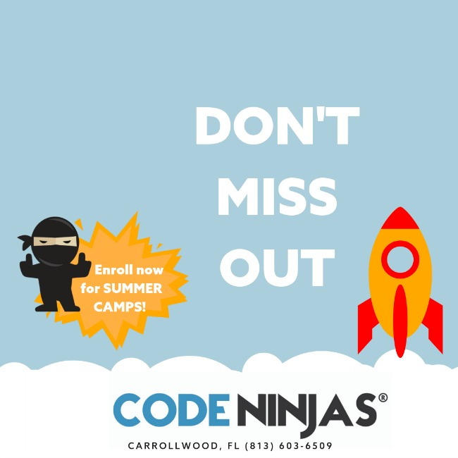 Code Ninjas Summer Camps