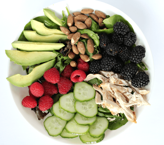 Avocado Berry Chicken Salad