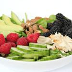 Berry Avocado Chicken Salad