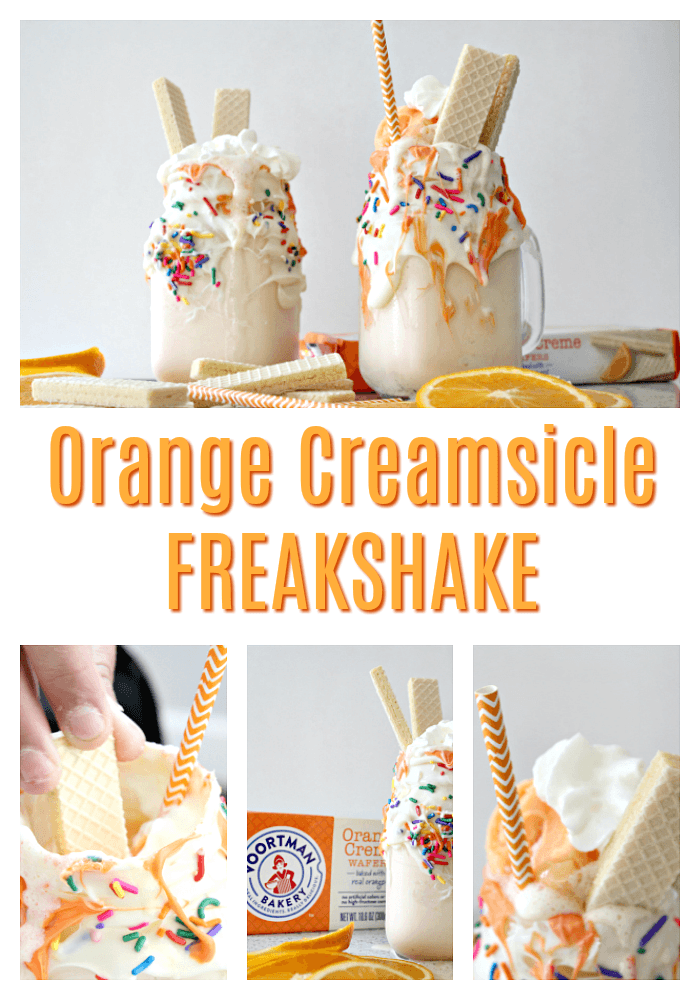 Orange Creamsicle Freakshake