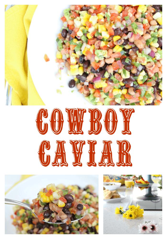 Delicious Cowboy Caviar