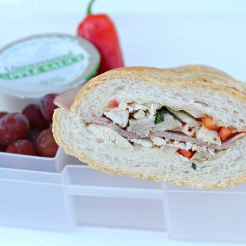 Italian Roasted Chicken Sandwich
