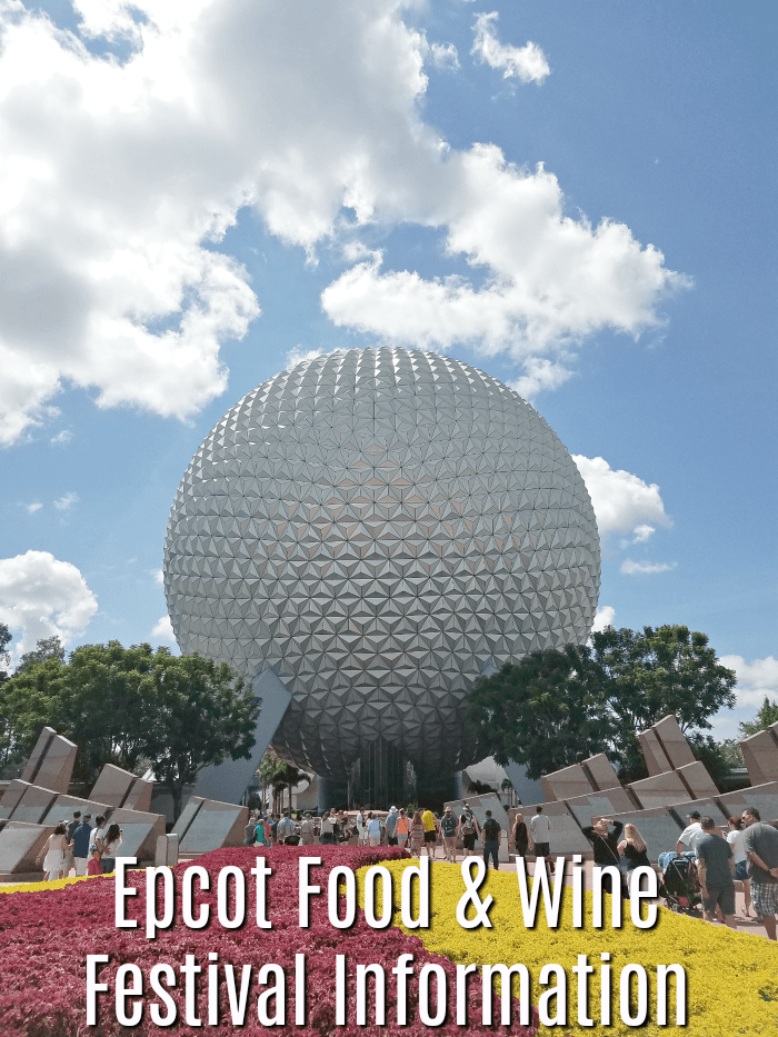Epcot Food and Wine Festival Information