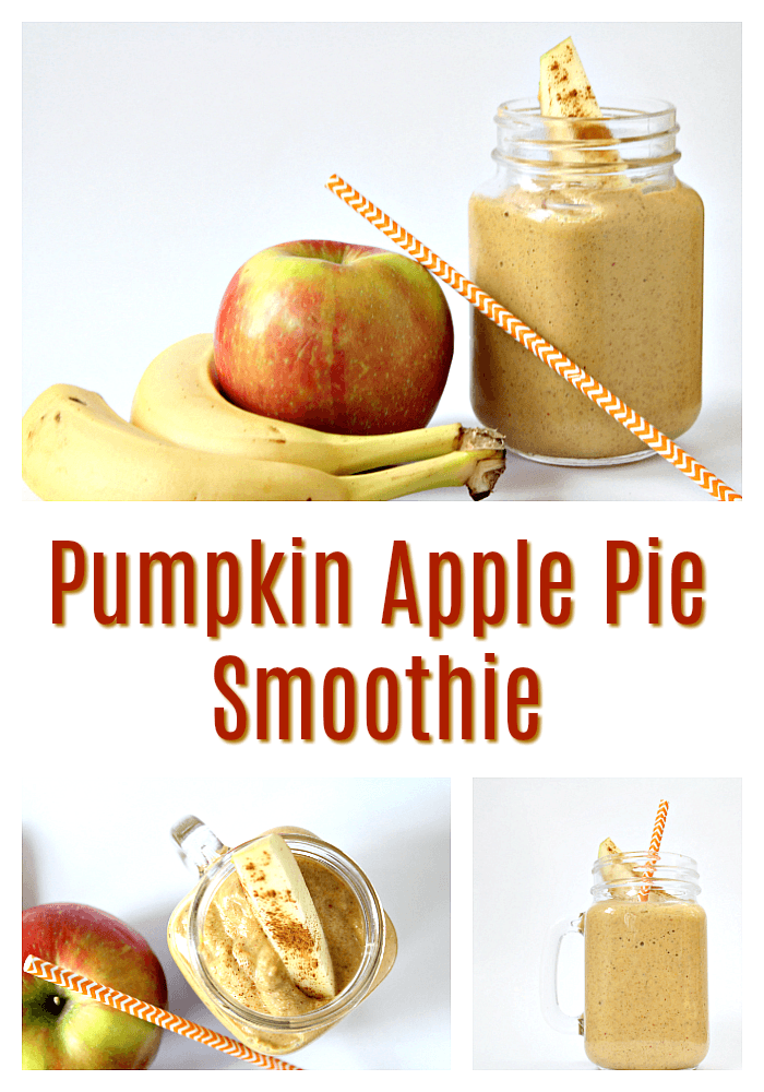 Tastiest Pumpkin Apple Pie Smoothie