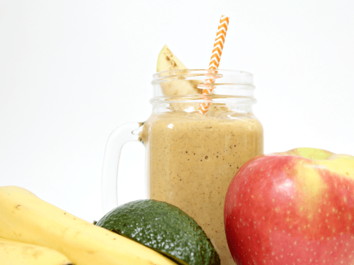 Pumpkin Apple Pie Protein Smoothie