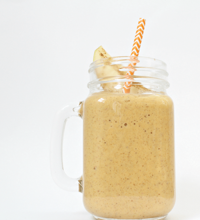 Apple Pumpkin Protein Smoothie