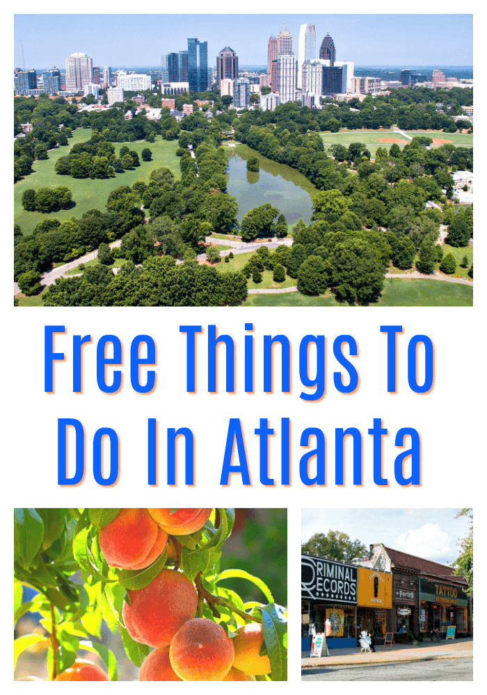 Free & Affordable Things To Do In Atlanta