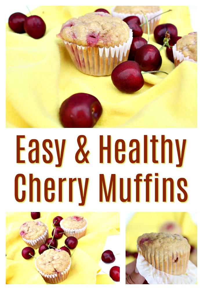 Tastiest Cherry Muffins