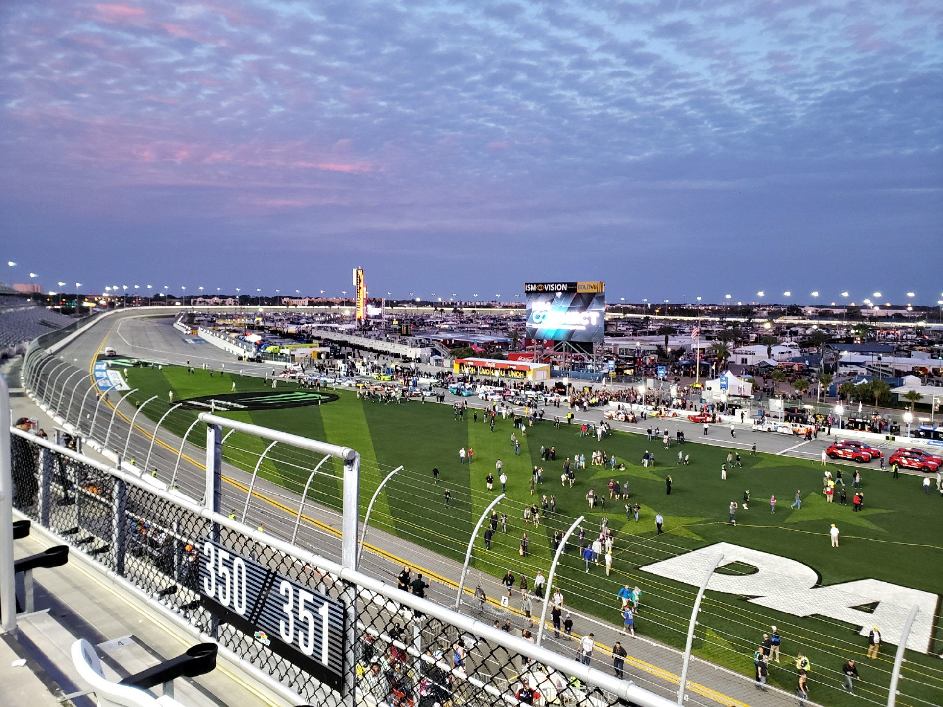 Daytona International Speedway Race schedule
