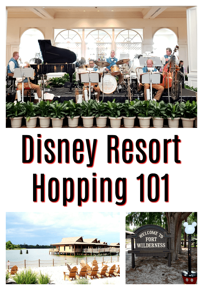 Walt Disney World Resort Hopping 101