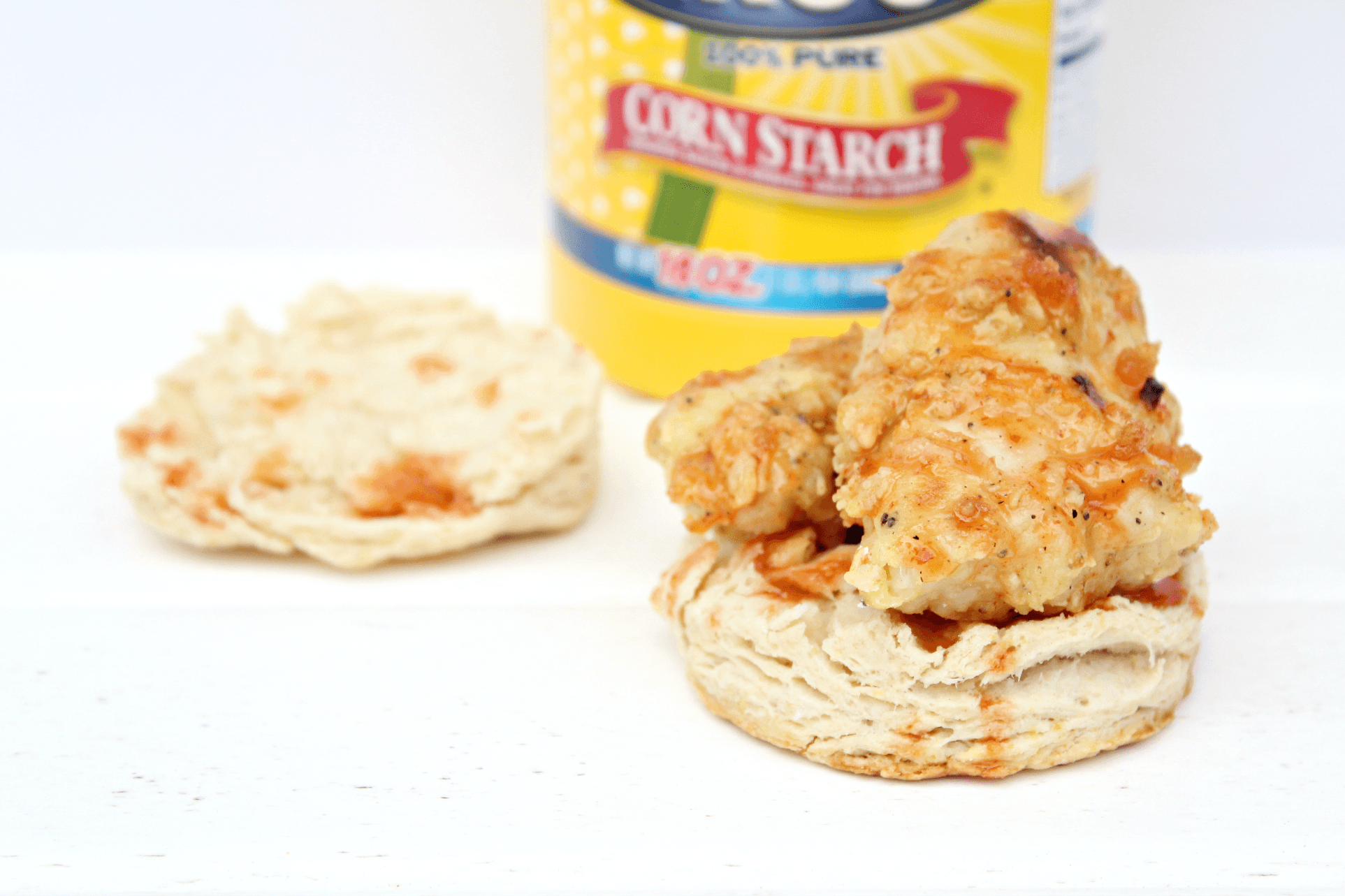 Oven Fried Chicken Biscuit