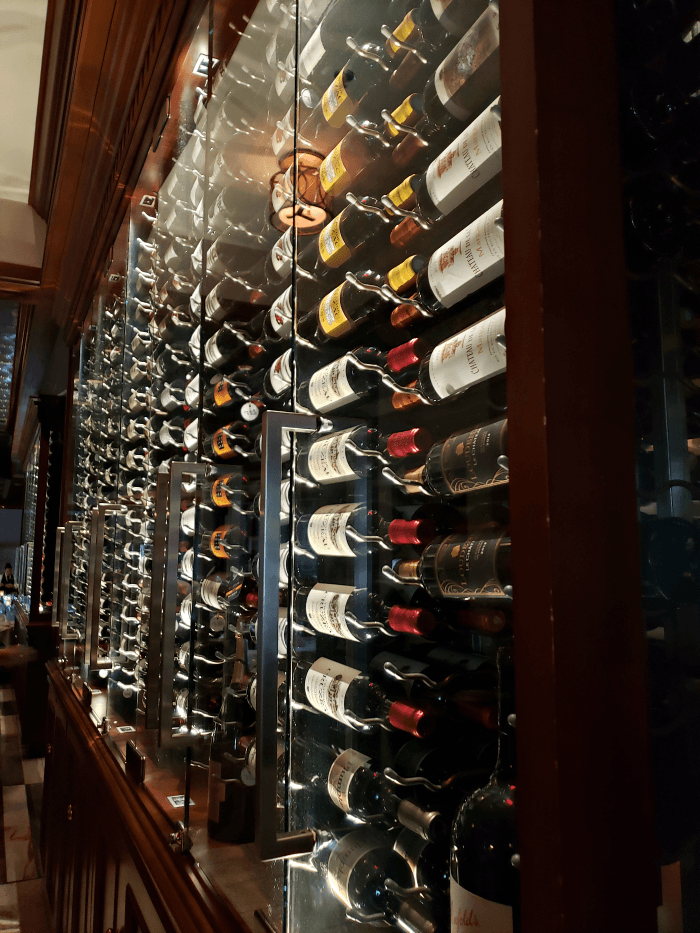 Ruth's Chris Steak House Wine Selection