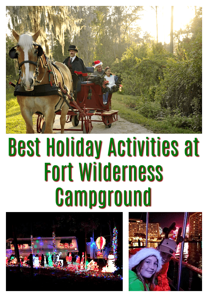 Best Holiday Events at Fort Wilderness Campground