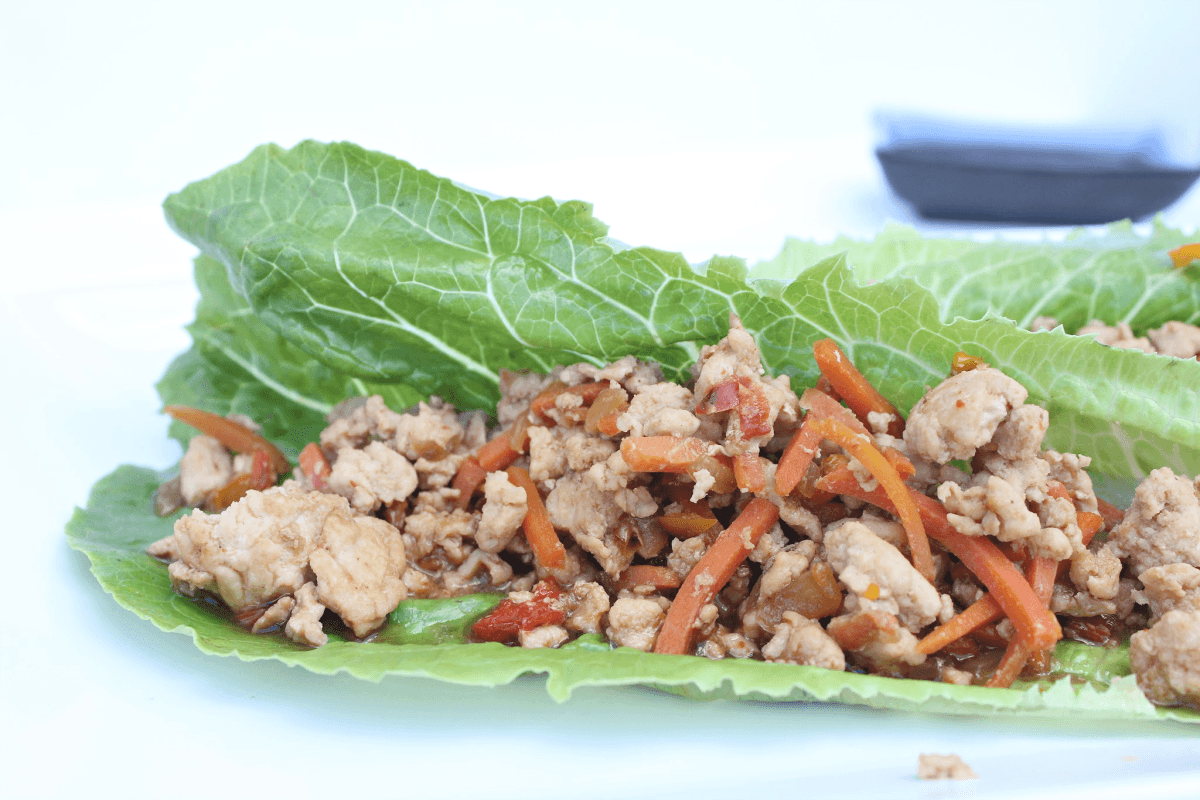 Best Asian Chicken Lettuce Wraps