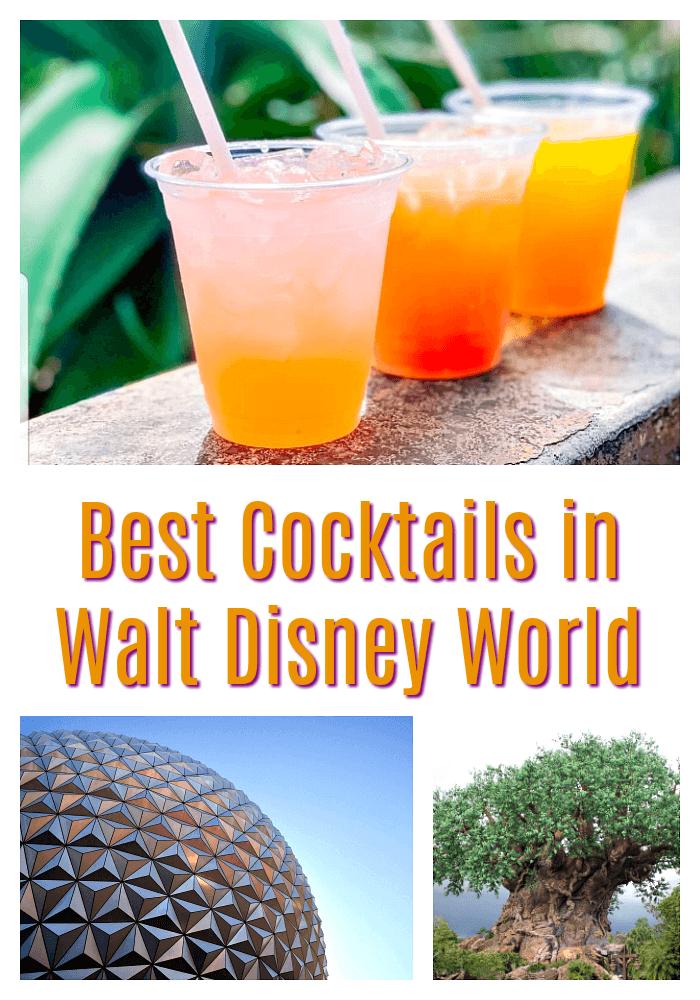 Best Cocktails in Walt Disney World