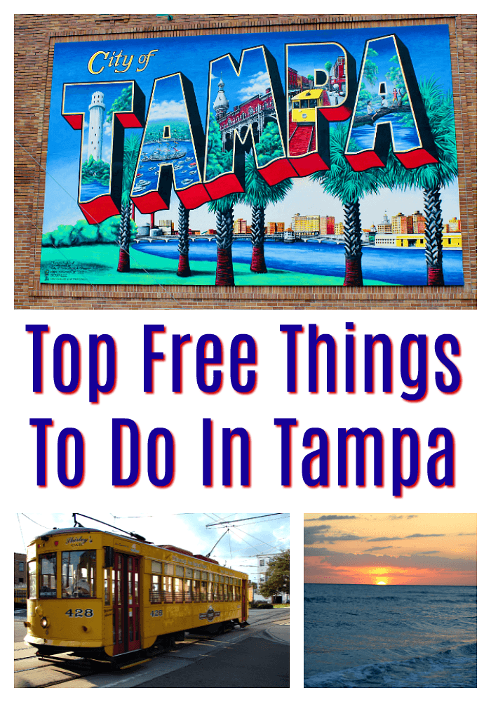 Top Free Things To Do In Tampa | Whether you live in Tampa or are planning a Tampa Florida vacation, you will enjoy these free things to do in Tampa. Discover free events and activities, and save your money for all the delicious local food. Read more travel tips, traveling on a budget, travel destinations and more on foodwinesunshine.com