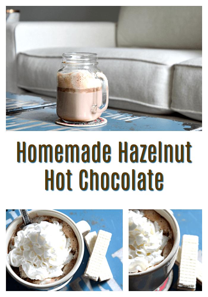 Homemade Hazelnut Hot Cocoa