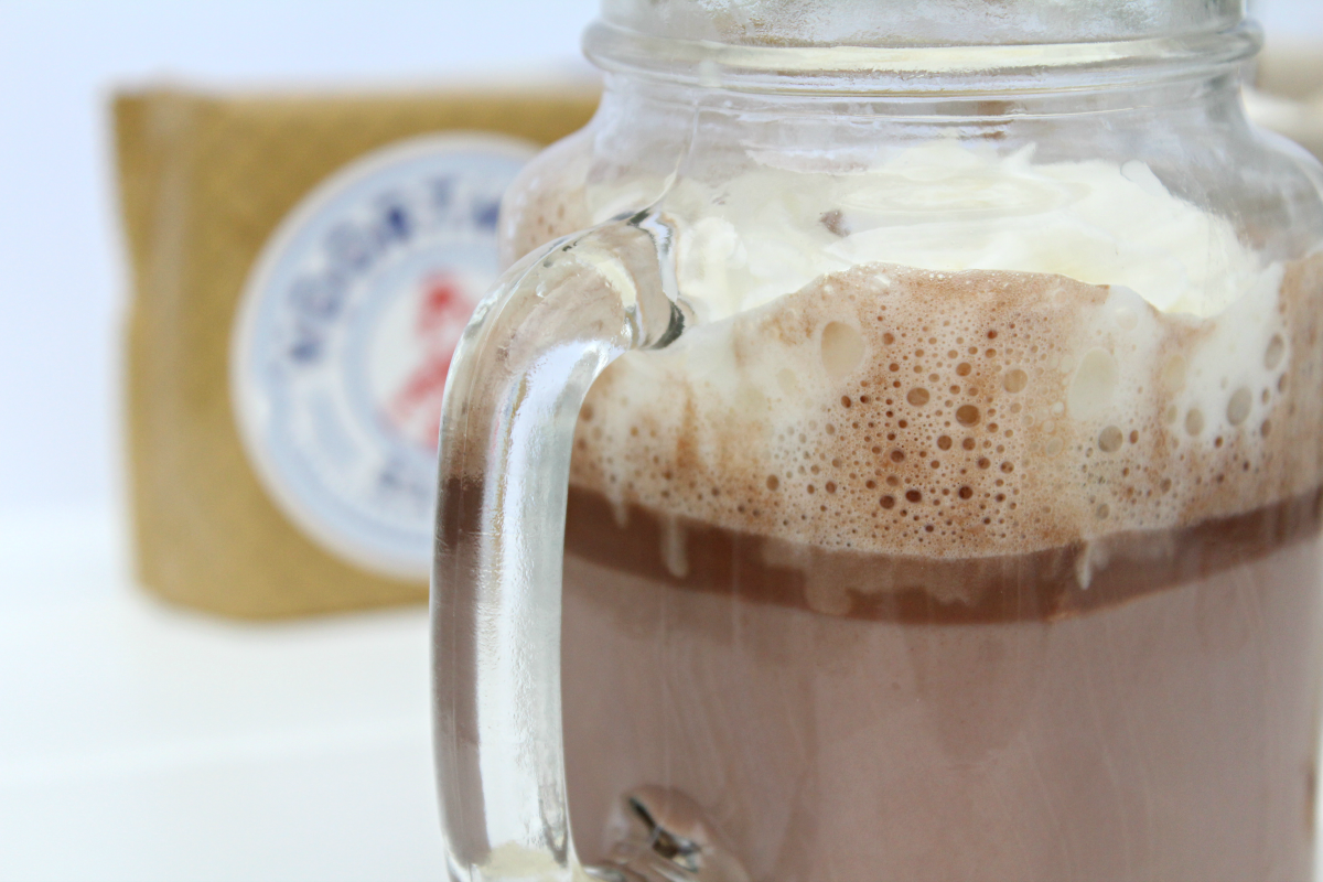 Easiest Hazelnut Hot Chocolate
