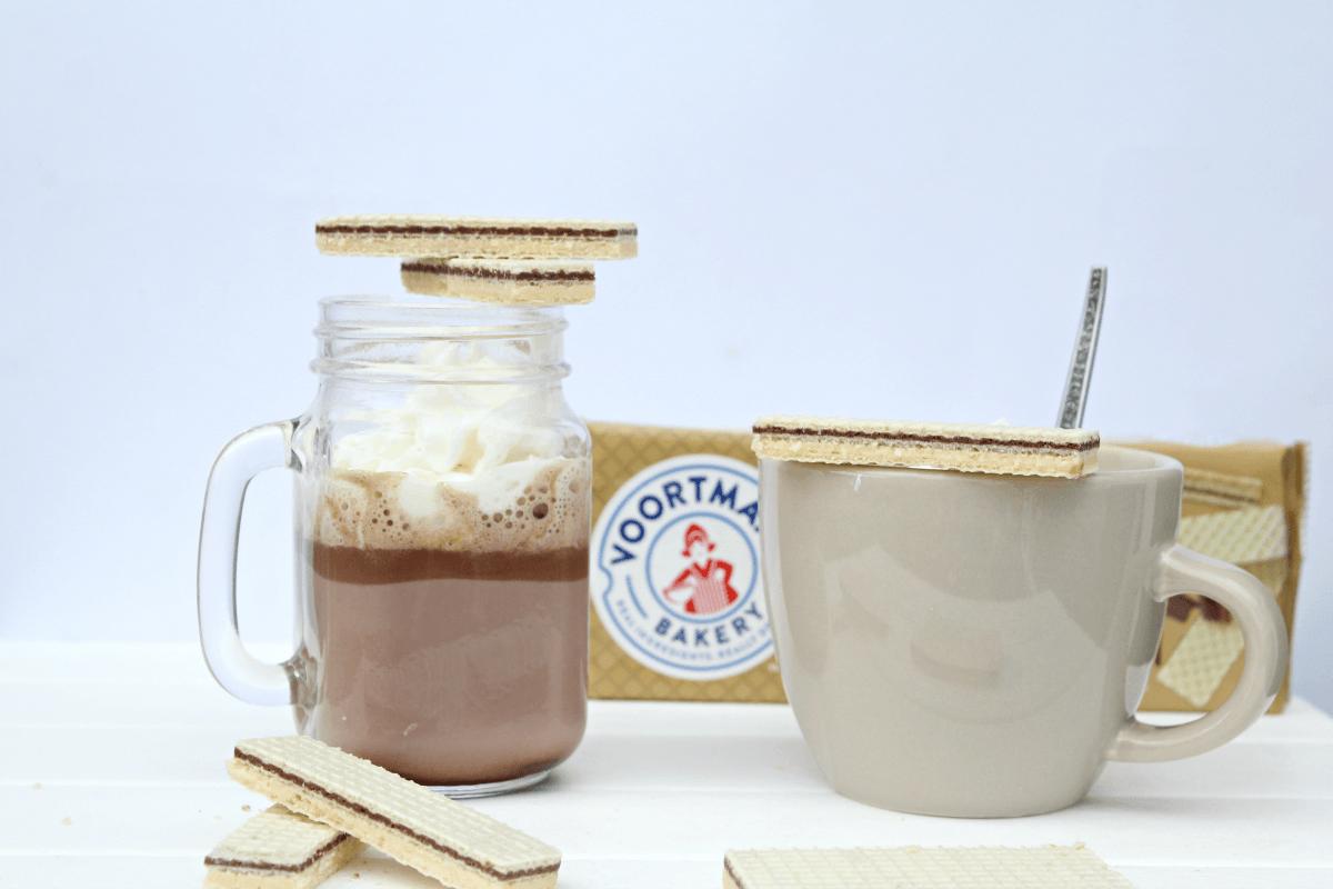 Homemade Hazelnut Hot Chocolate