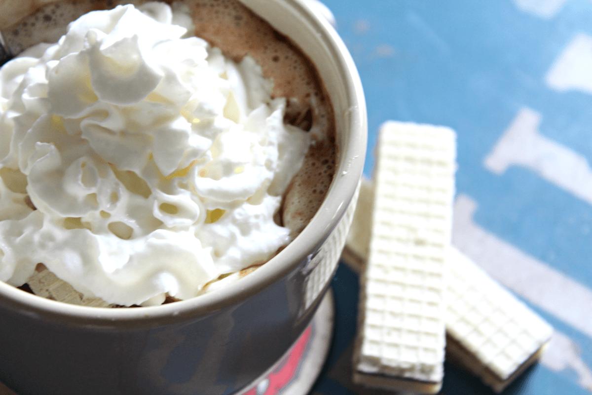 Easiest Homemade Hazelnut Hot Cocoa