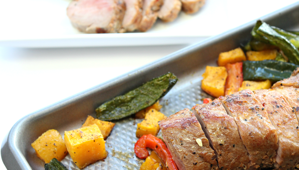 Sheet Pan Pork Tenderloin