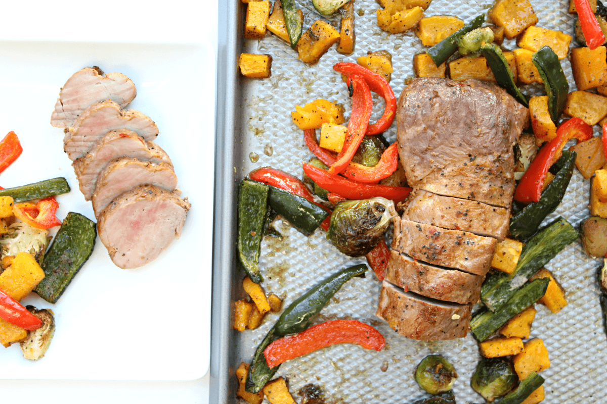 Easiest Roasted Pork Tenderloin