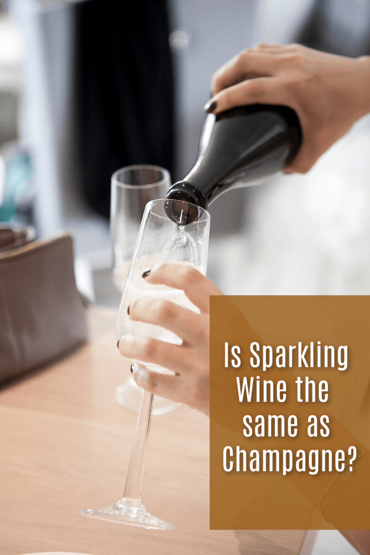 Is Sparkling Wine the same as Champagne?