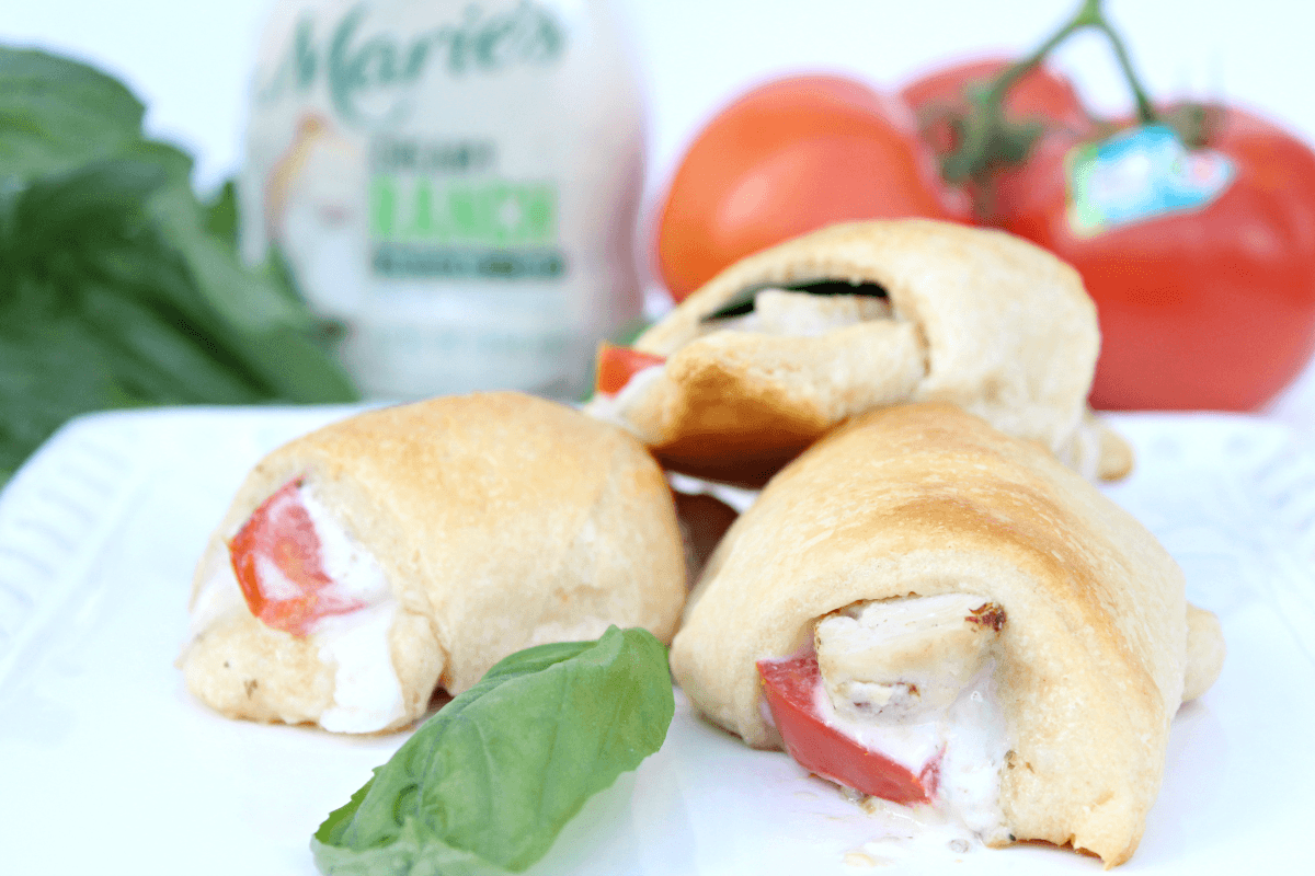Best Chicken Tomato Basil Crescent Rolls