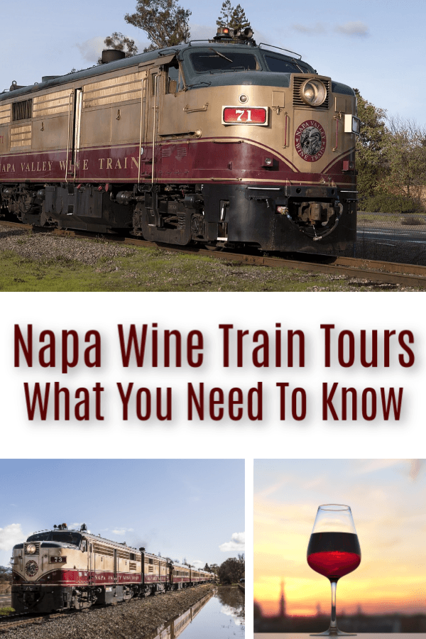 Napa Valley Wine Train Tours Information