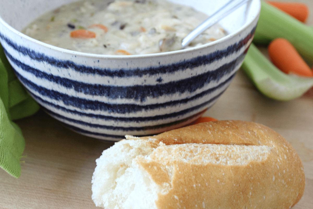 Best Creamy Turkey and Wild Rice Soup