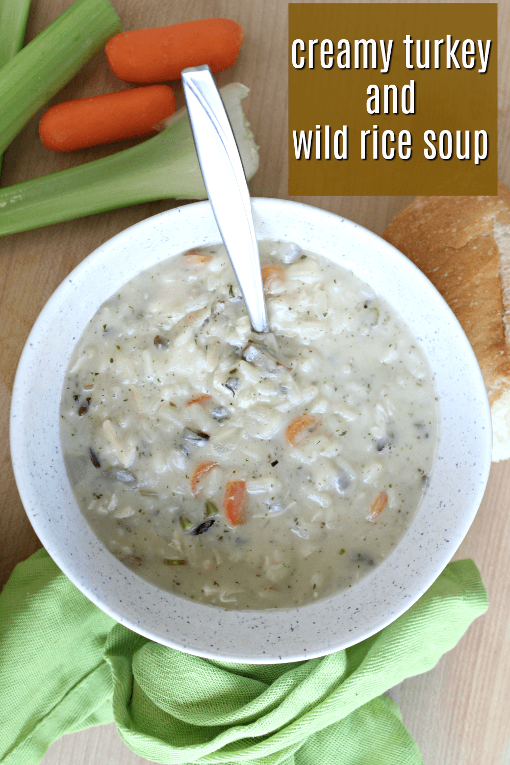 Best Turkey and Wild Rice Soup