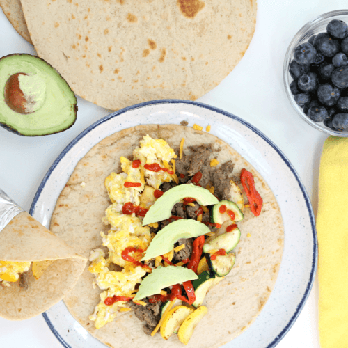 Protein Packed Breakfast Burritos