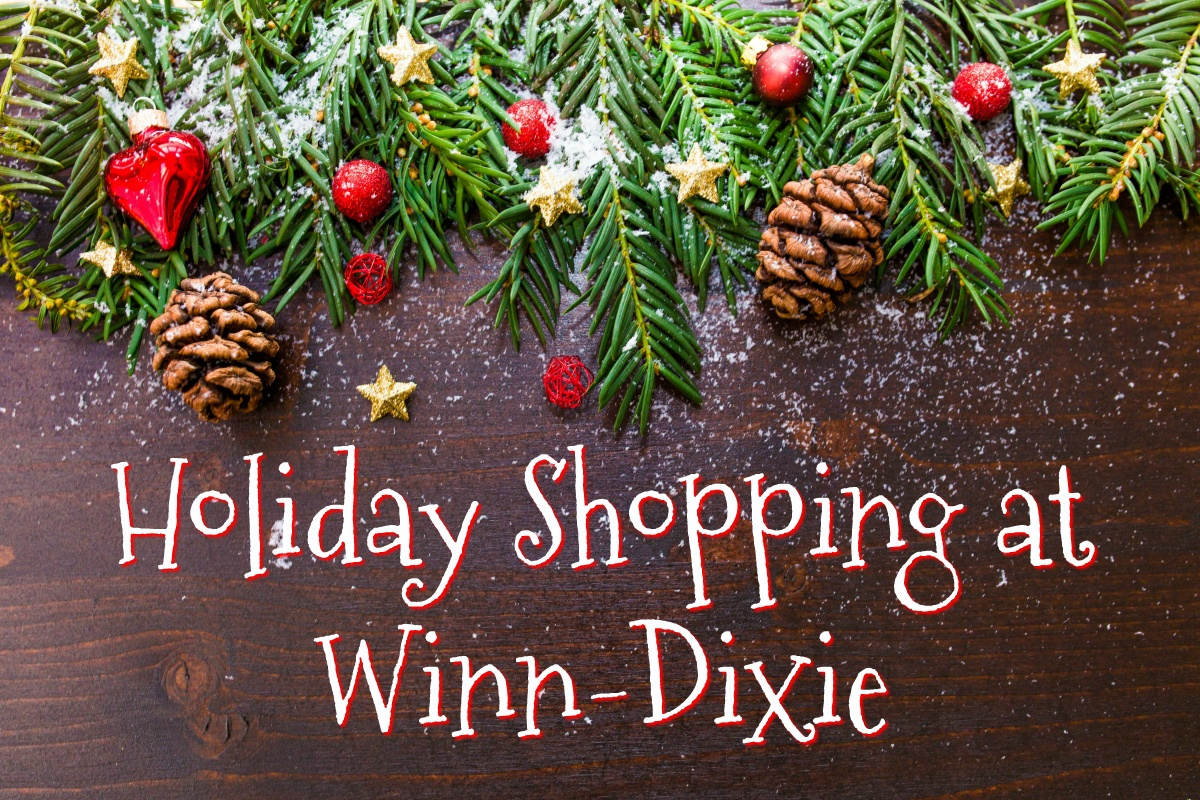 Holiday Shopping at Winn-Dixie