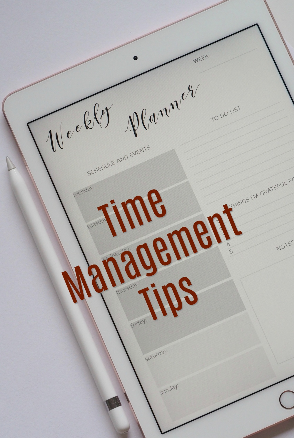 Time Management Tips For Parents