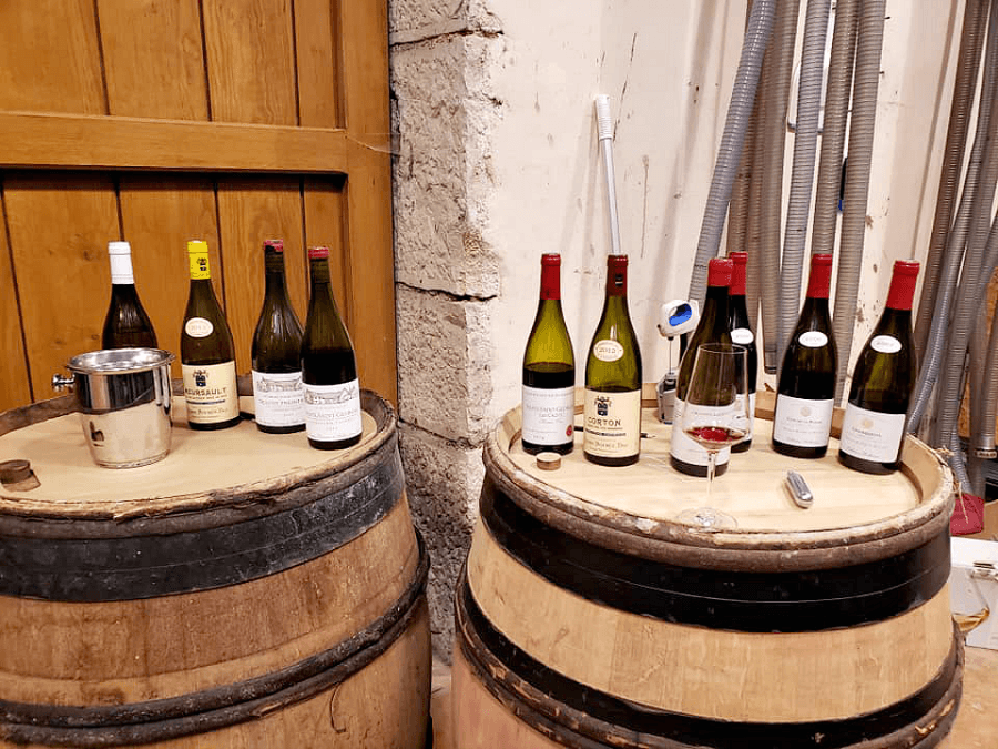 Wineries in Beaune France