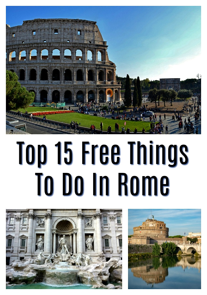 What can you do for free in Rome